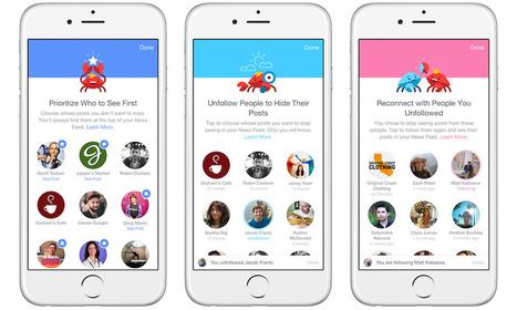 Vous allez pouvoir mieux organiser votre fil d'actualité dans Facebook | Marketing digital, communication, etc. | Scoop.it