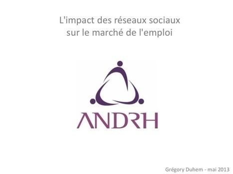 L'impact des réseaux sociaux sur le marché de l... | ANDRH | Scoop.it