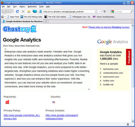 Ghostery - helps you watch Big Brother watching you | cross pond high tech | Scoop.it