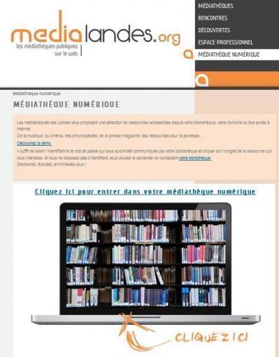 La première médiathèque numérique départementale   Enssib   bib & actualités numériques   Scoop.it