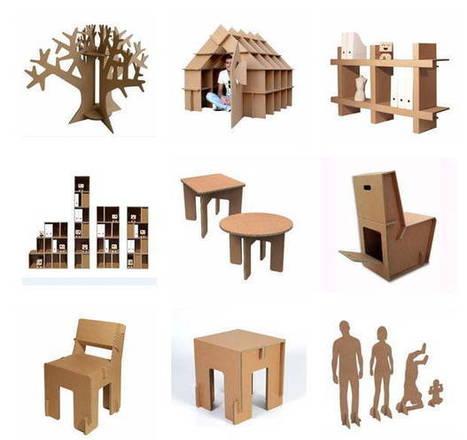 Muebles modulares de cartón, hazlo tu mismo   Packaging Retail   Scoop.it