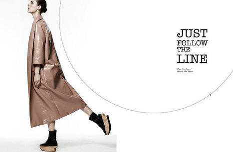 Marte Mei Van Haaster Poses for Amy Troost in Muse Spring 2013 | TAFT: Trends And Fashion Timeline | Scoop.it