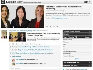 With Sights Set on Engagement, LinkedIn Launches More Social Features   B2B Marketing and PR   Scoop.it