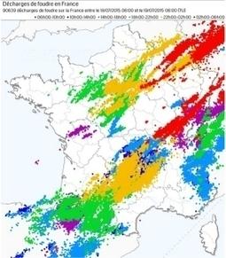 La Côte-d'Or épargnée par les orages dans la nuit de samedi à dimanche | Chronique d'un pays où il ne se passe rien... ou presque ! | Scoop.it