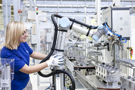 VW launches robot that collaborates with workers   Robohub   leapmind   Scoop.it
