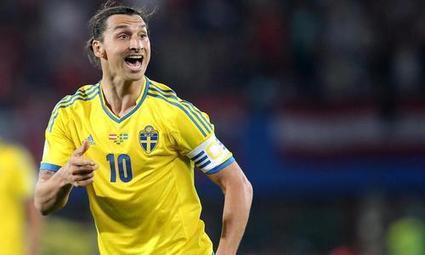 La Suède d'Ibrahimovic dans le dur - Sport 24 | La Suède à la Une | Scoop.it