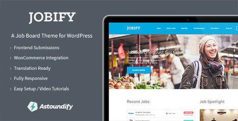 Jobify v1.8.0 WordPress Job Board Theme Free Download | Free Themes Premium | Scoop.it