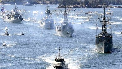 In pictures: Sydney international warships show - BBC News | Military and Some More Things | Scoop.it