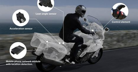BMW has the first smart emergency system for motorcycles | Heron | Scoop.it
