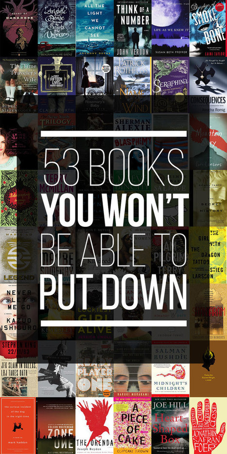 53 Books You Won't Be Able To Put Down | Interesting Reading | Scoop.it