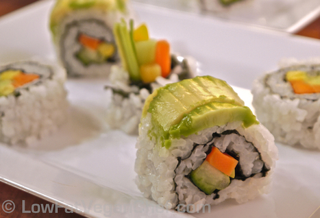 How to Reinvent Your Sushi, Vegan Style - One Green Planet | VegHeads | Scoop.it