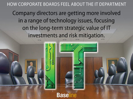 How Corporate Boards Feel About the IT Department | Business Transformation | Scoop.it