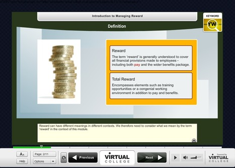 Old School e-Learning in Flash | E-Learning Examples | Scoop.it