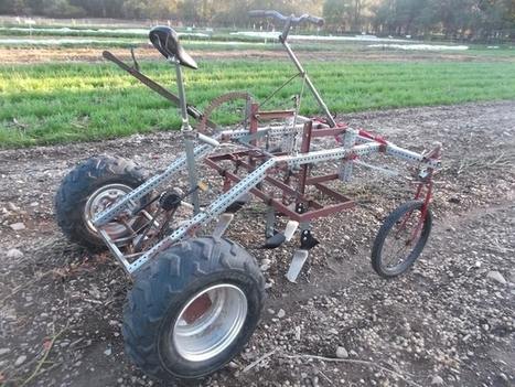 This pedal-powered tractor is designed for low horsepower tasks on small farms | Sustain Our Earth | Scoop.it