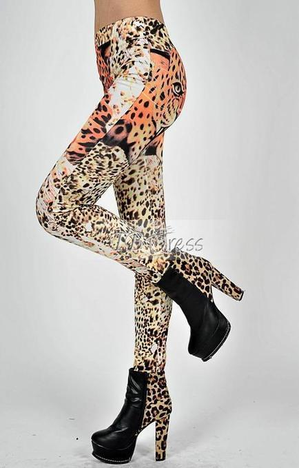 $ 18.49 Most Classic Tiger Inks Cheetah Leggings 7756 | Style | Scoop.it