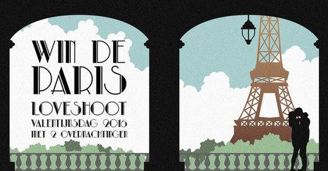 WIN: Paris Loveshoot met overnachtingen | Bruidsfotografie | Scoop.it