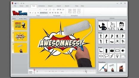 Powtoon : créer vos propres vidéos animées | CDI & TICE | Scoop.it