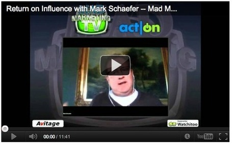 Return on Influence with Mark Schaefer | SNID master | Scoop.it