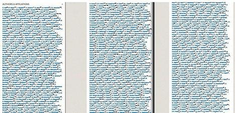 5154 personnes au chevet d'une particule subatomique | Merveilles - Marvels | Scoop.it