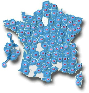 Carte des AD et des communes en ligne   Chroniques ancestrales   Chroniques ancestrales   Scoop.it