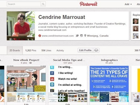 Pinterest brings website verification to profiles | curating your interests | Scoop.it