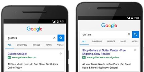 Google AdWords déploie officiellement les Annonces textuelles grand format | Référencement internet | Scoop.it