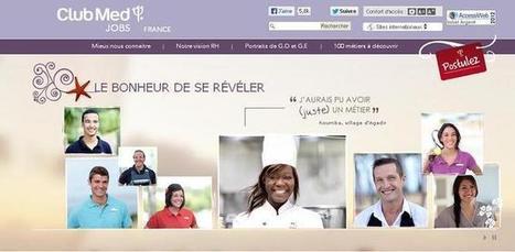 Recrutement 2.0 pour le Club Med | Construire sa marque employeur | Scoop.it