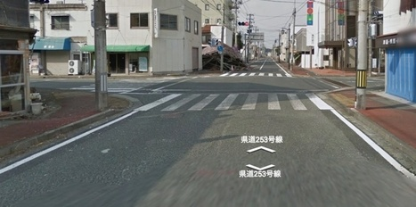 Fukushima vu par Google Street View | Tout le web | Scoop.it