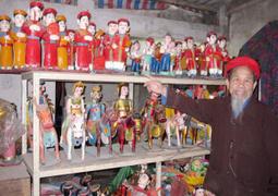 Le vieux marionnettiste du village de Tê Tiêu | Liên-Viêt Réseau culturel France Vietnam | Scoop.it