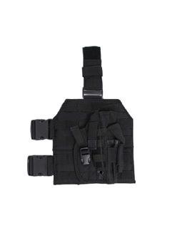 Buy Cheap Police Molle Leg Black Pistol Holster | Military Surplus Canada | Scoop.it