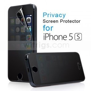 Privacy Screen Protector for Apple iPhone 5S - Witrigs.com | Do iphone 5s need screen protectors | Scoop.it