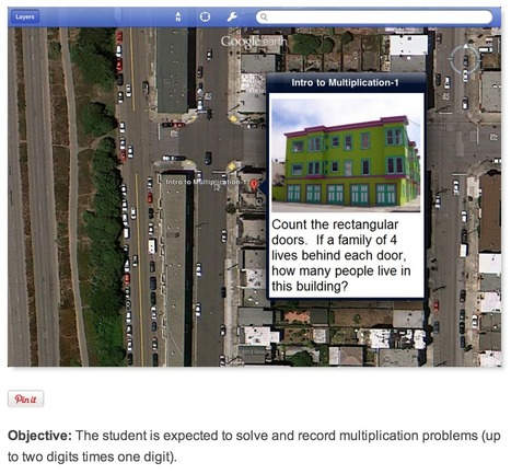 Using Google Maps For Virtual Field Trips | Elementary Technology Education | Scoop.it