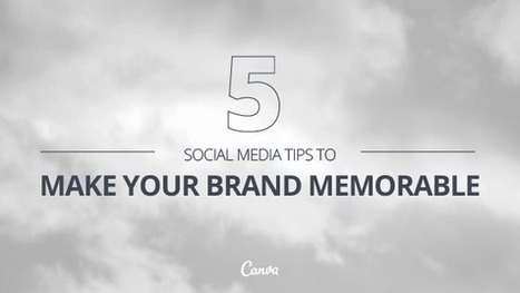 Five Social Media Tips That Will Make Your Brand Memorable | The many ways authors are using Apple's iBooks Author and iBooks2 | Scoop.it