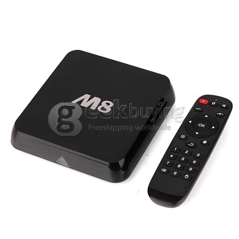 M8 Android TV BOX Amlogic S802 Quad Core Cortex-A9 2.0Ghz Bluetooth 2.4G/5G WIFI XBMC Android 4.4 KitKat OS-Black - GeekBuying.com   TV Box & Mini PC TV Stick   Scoop.it
