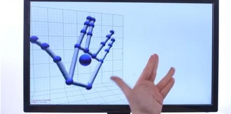 Leap Motion fait des prouesses pour la reconnaissance de mouvements | Nouvelles Technologies | Scoop.it