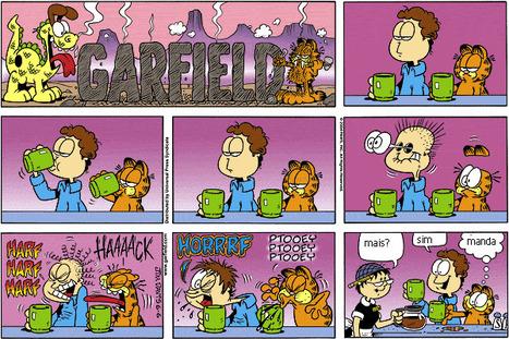 Garfield - Jim Davis | Cultura de massa no Século XXI (Mass Culture in the XXI Century) | Scoop.it