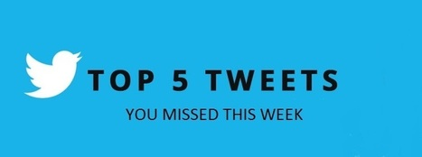 Fascinating Five Celeb Tweets Of the Week You Might Have Missed | Entertainment News | Scoop.it