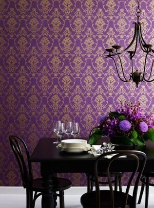 Damask prints: timeless classic or safe and boring? | Wallpaper | Scoop.it