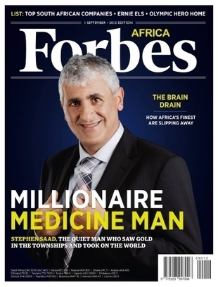 South African Pharma Entrepreneur Stephen Saad Joins The Billionaires' Club - Forbes   Work From Home   Scoop.it