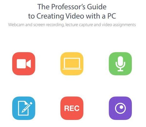 Professor's Guide to Creating Video ^ free eBook | Informatics Technology in Education | Scoop.it
