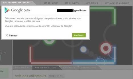 Google ne veut plus d'anonymes sur Google Play | Libertés Numériques | Scoop.it
