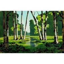 A birch grove 7, Arkhip Kuindzhi | Oil painting reproduction | Oil paintings | Scoop.it