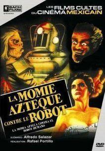 La Momie Aztèque contre le Robot - Naveton Cinéma, le blog ciné le plus nul du net ! | Vintage, Robots, Photos, Pub, Années 50 | Scoop.it