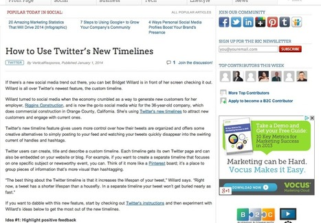 Comment utiliser la nouvelle « Timeline » sur Twitter | #TonUpdate | Médias sociaux (Twitter + Facebook) | Scoop.it