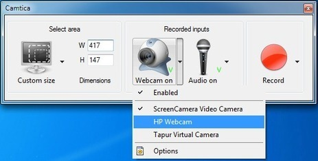 Camtica - Screen Recorder Software | Moodle and Web 2.0 | Scoop.it