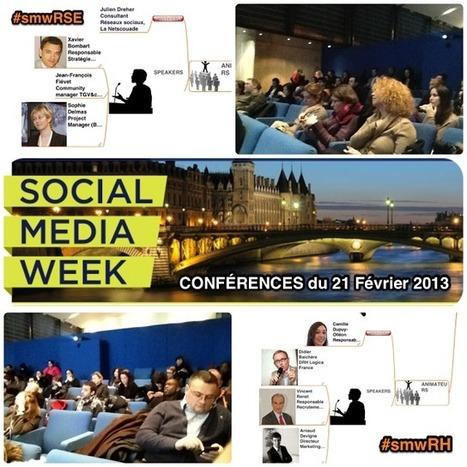 Gestion des Connaissances: Social Média Week Paris - Conférences RSE et DRH 2.0 | #ITyPA Bruno Tison | Scoop.it