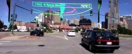Pioneer Navi der nächsten Generation mit Head up Display und ... | Augmented Reality und Spiele | Scoop.it