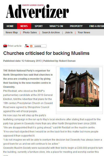 Simon Darby: BNP slams church moral cowardice | The Indigenous Uprising of the British Isles | Scoop.it