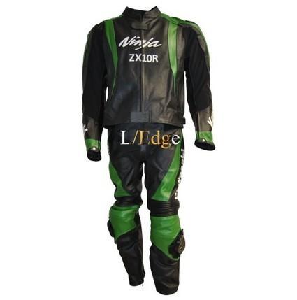 KAWASAKI NINJA ZX10R GREEN BLACK LEATHER SUIT | Adidas TT10 Black Hockey Stick | Scoop.it