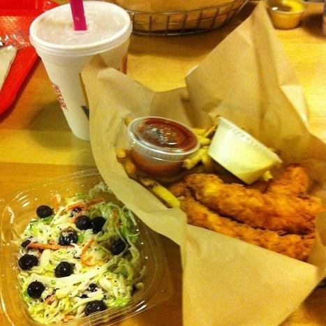 Chicken fingers, French fries, coleslaw, tea, milkshake #cheatnight #carbnite | Carb Nite Testimonials | Scoop.it